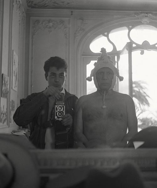 Picasso et Andre Villers_autoportrait